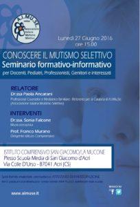 LONCADINA seminario docenti 27 giugno 2016