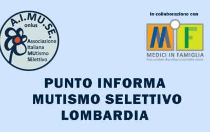 Punto Informa Mutismo Selettivo Lombardia