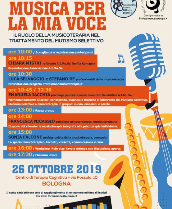 Musicoterapia e Mutismo Selettivo a Bologna