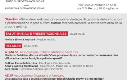 Grugliasco, 21 novembre 2019 – A.I.Mu.Se. ospite dell'Associazione A.S.I.