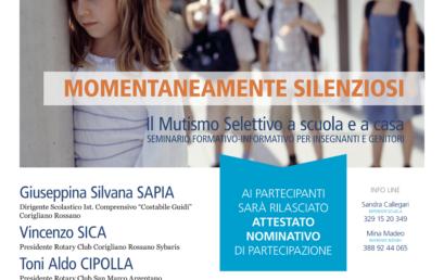 CALABRIA: prossimo appuntamento a Corigliano-Rossano