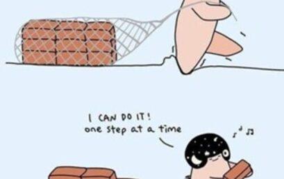 Posso farcela un passo alla volta…